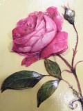 3Dの薔薇