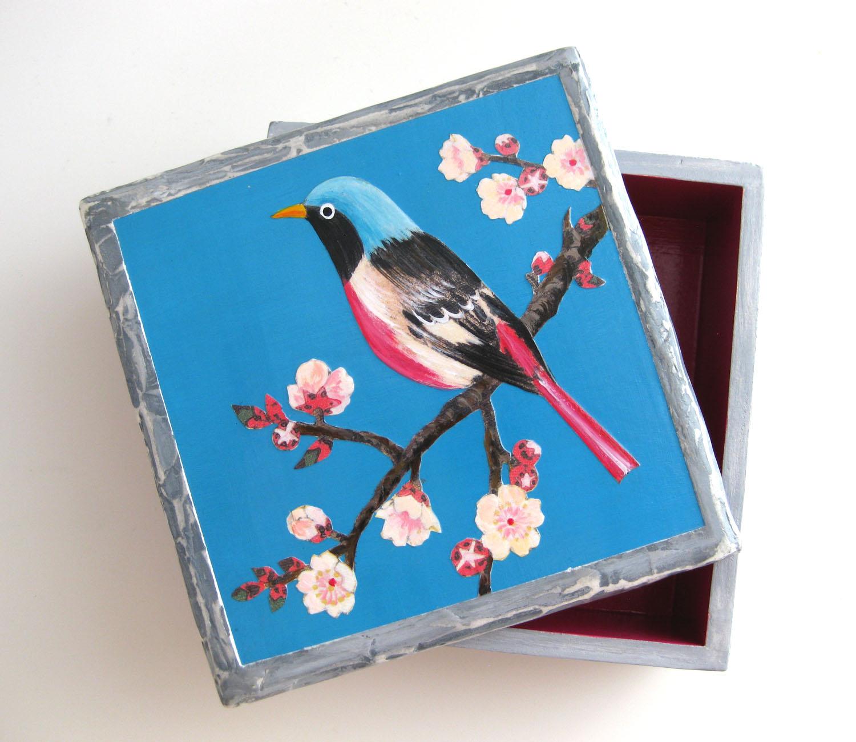 鳥の3D箱